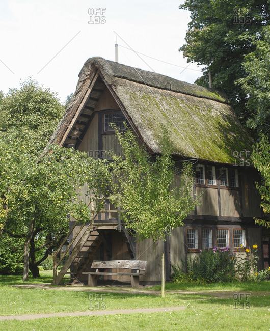 Germany, Lower Saxony, Rotenburg (Wumme), old storehouse, museum of local history