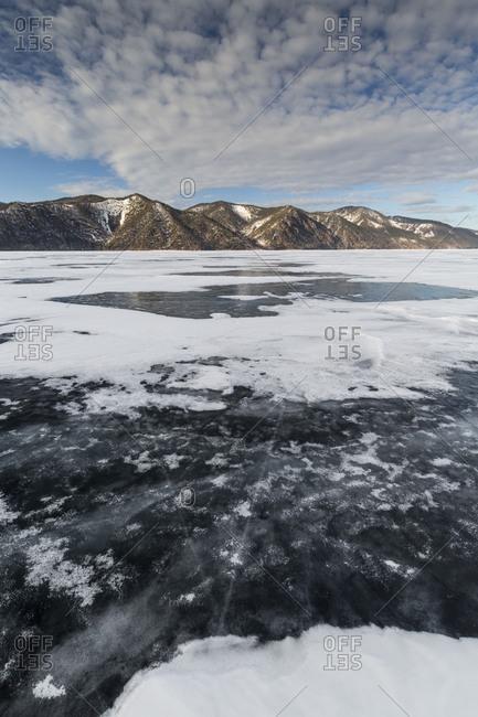 Asia, Russia, Siberia, Buryatia, Irkutsk Oblast, Lake Baikal