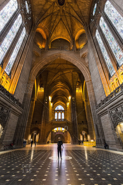 Europe, England, United Kingdom, Liverpool - Liverpool Cathedral