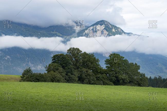 Austria, Tyrol, Alpbach valley, landscape near Reith im Alpbachtal.