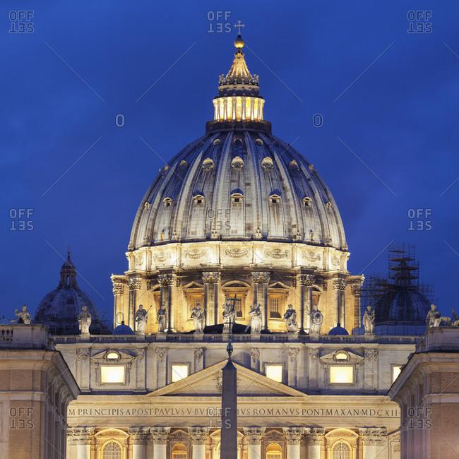 St. Peter's Basilica, Basilica di San Pietro, Rome, Lazio, Italy