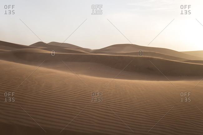 Morocco, Erg Chigaga, Sahara desert