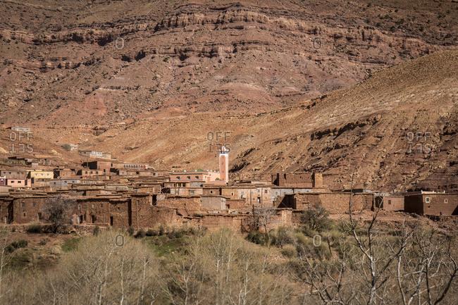 Morocco, road N9, Taddart