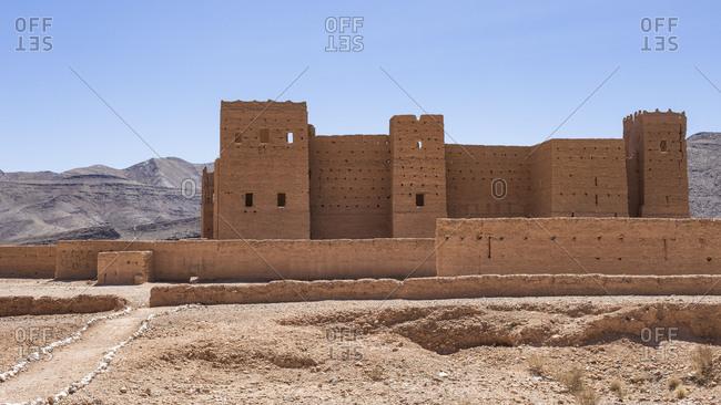 Morocco, Agdz, Kasbah Tamnougalt