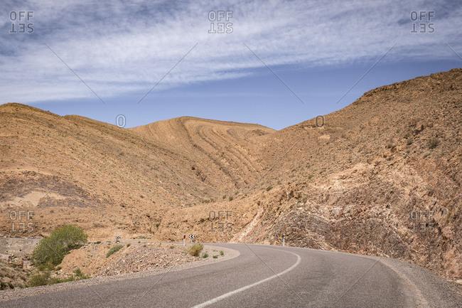 Morocco, road R108, Tazenakht
