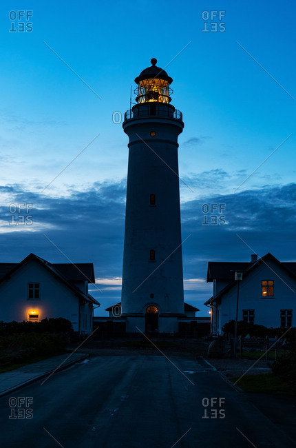 Lighthouse Hirtshals, Denmark