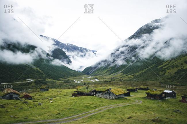 Norway - August 31, 2018: Norway, More og Romsdal, Stranda
