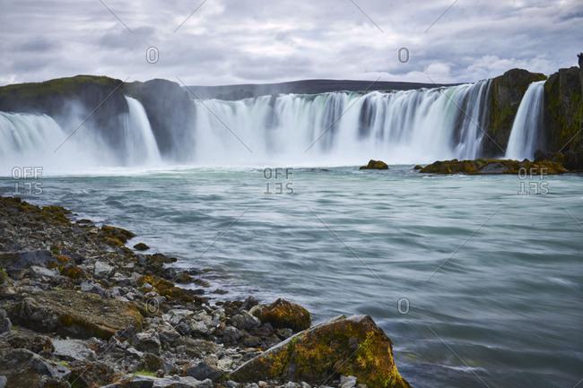 Godafoss waterfall on the Skjalfandafljt