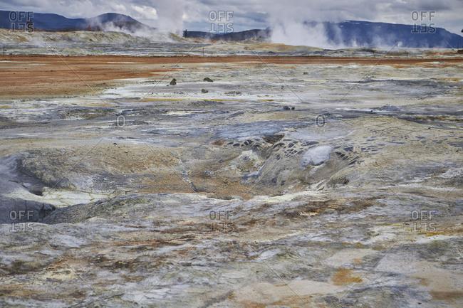 Iceland, geothermal field of Hverir