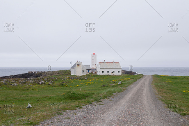 Lighthouse, Berlevag-Kongsfjord, North Norway