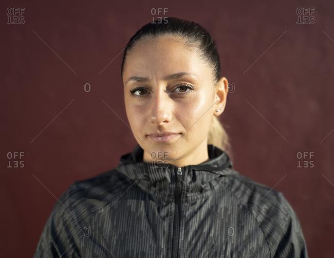 Portrait of a women in sportswear