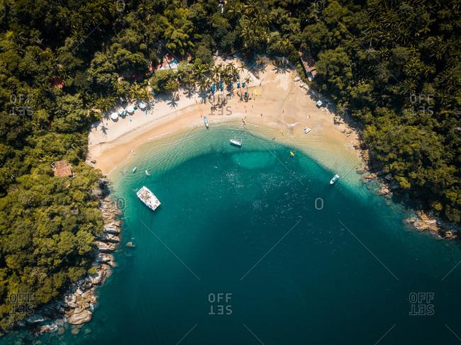 Mexico- Jalisco- South of Puerto Vallarta- Majahuitas beach- Banderas Bay