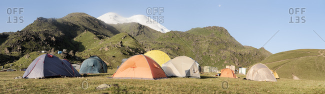 Russia- Upper Baksan Valley- Caucasus- Mount Elbrus Base Camp
