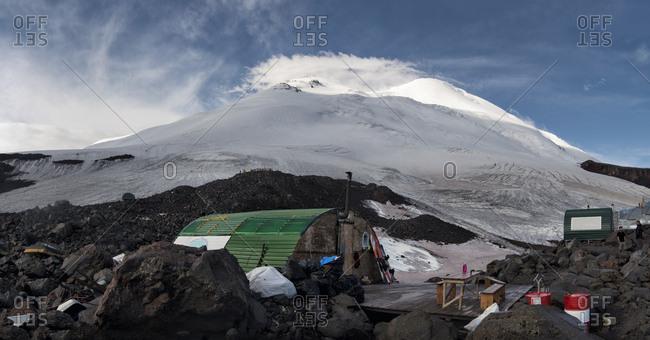 Russia- Upper Baksan Valley- Caucasus- Mount Elbrus North Camp