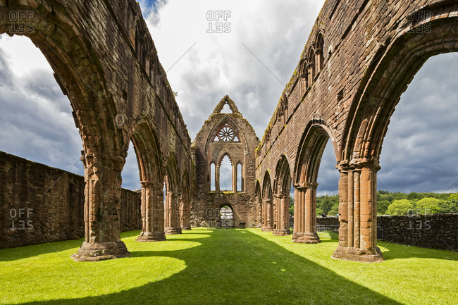 United Kingdom- Scotland- Dumfries and Galloway- Sweetheart Abbey