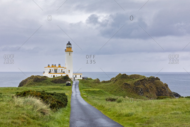 Great Britain- Scotland- Turnberry Lighthouse