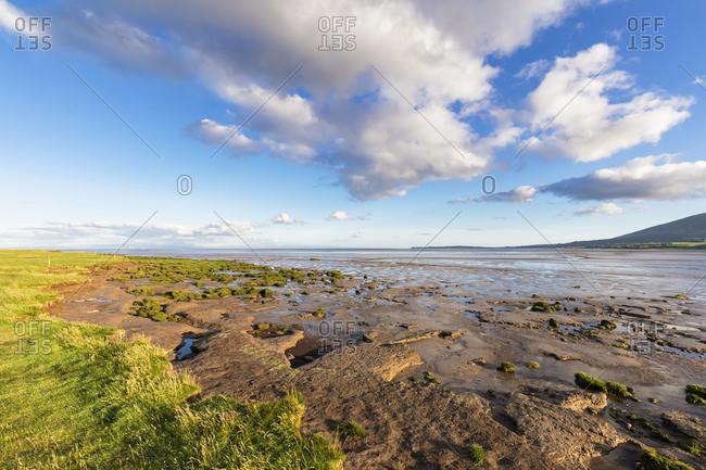 Great Britain- Scotland- Caerlaverock National Nature Reserve- Channel of lochar water