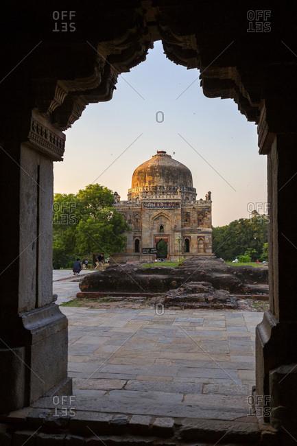India- Delhi- New Delhi- Lodi Gardens- Sheesh Gumbad