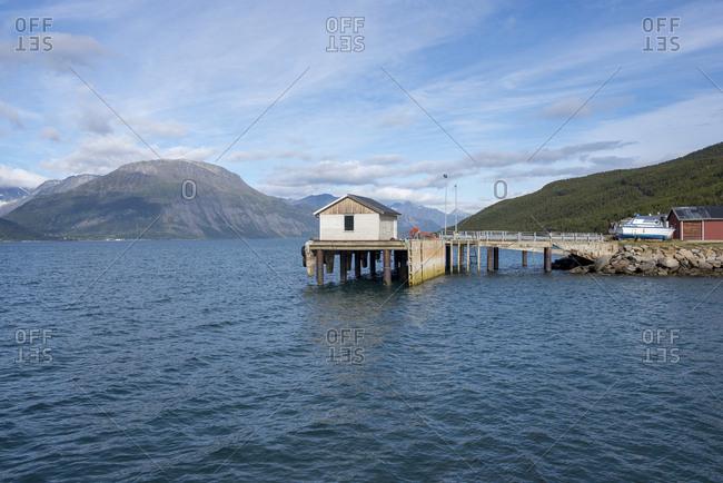 Norway- Skibotn- harbour