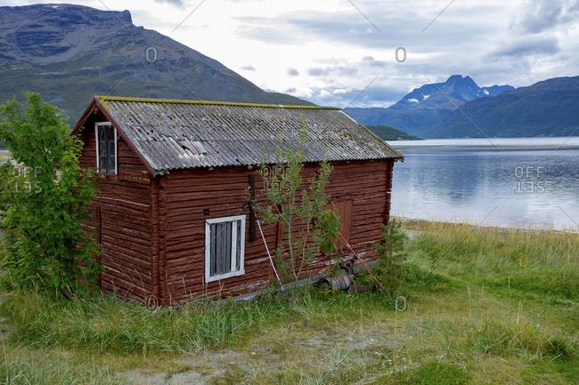 Norway- Skibotn- wooden hut