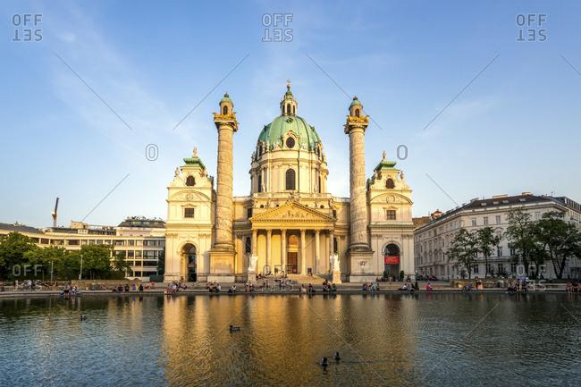 December 12, 2018: Austria- Vienna- St. Charles's Church