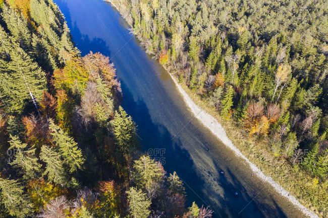 Germany- Upper Bavaria- Isar river- Nature Reserve Isarauen