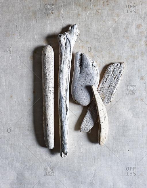 White driftwood