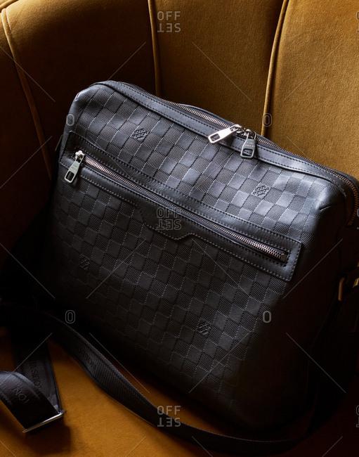 October 10, 2016 - Louis Vuitton black purse
