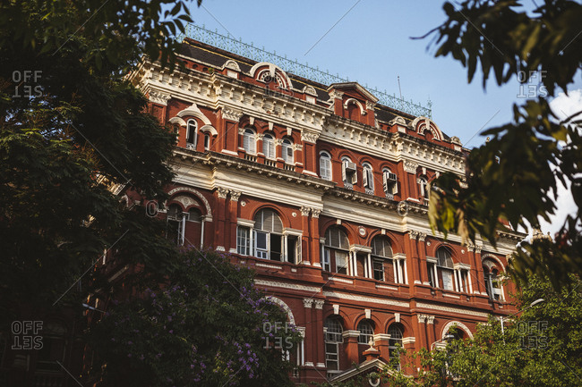 Kolkata, India - April 3, 2018: The Writer's Building, originally part of the British East India Company