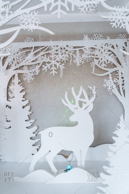 Reindeer holiday d�cor