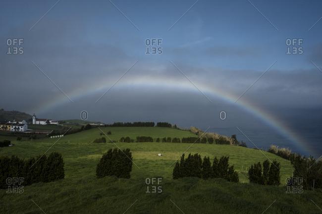 Rainbow near Ponta do Sossego