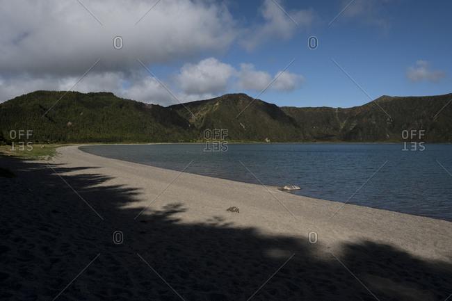 Lagoa do Fogo sand beach