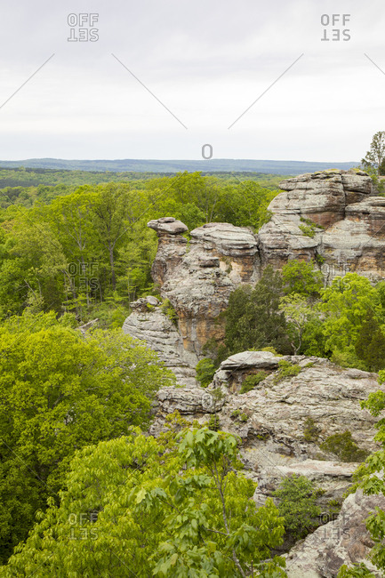 Camel Rock, Garden of the Gods Recreation Area, Shawnee National Forest, Saline County, Illinois
