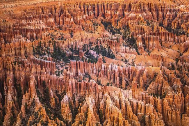 USA- Utah- rock formations at Bryce Canyon National Park