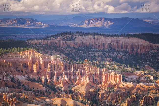 USA- Utah- rock formations at Bryce Canyon National Park