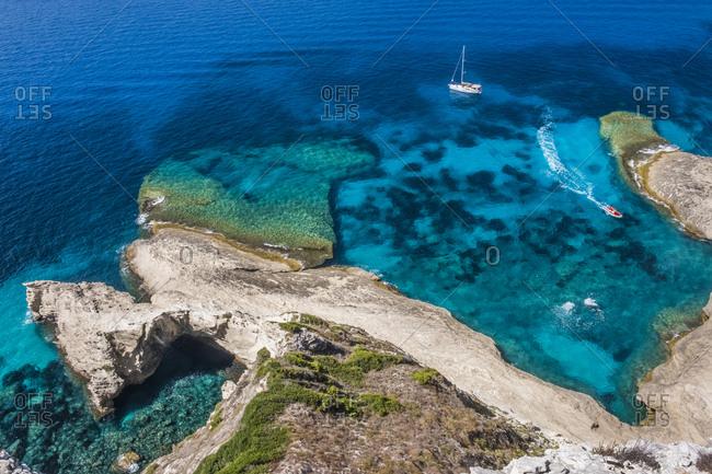 Corsica- Mediterranean coast