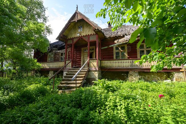Slovakia- Poprad- Zdiar- village of the Gorals- abandoned house
