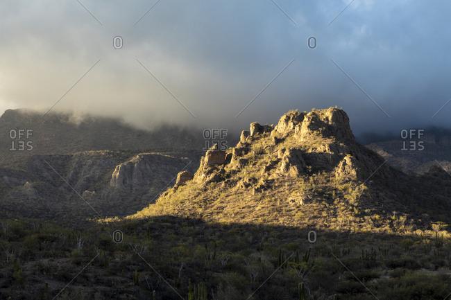 Sierra La Giganta nearby Loreto, Baja California Sur, Mexico