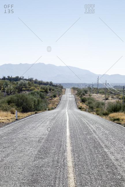 Transpeninsular road to Mulege, Baja California Sur, Mexico