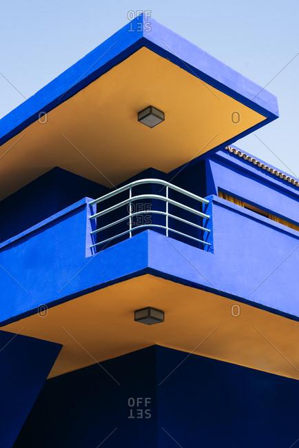 Beautiful moroccan building architecture design