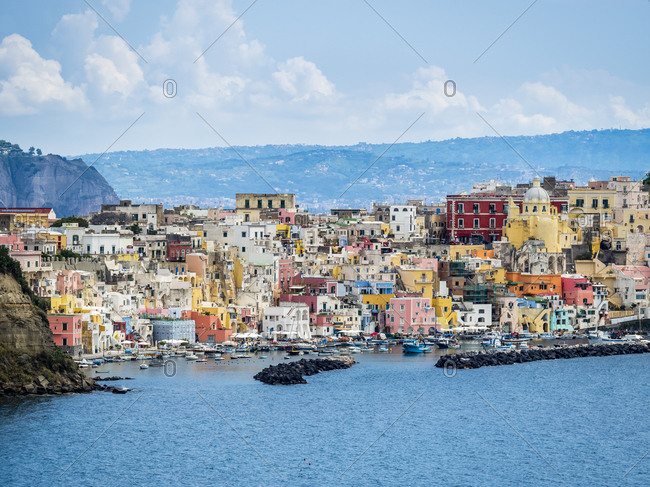 Italy- Campania- Gulf of Naples- Phlegraean Islands- Procida Island