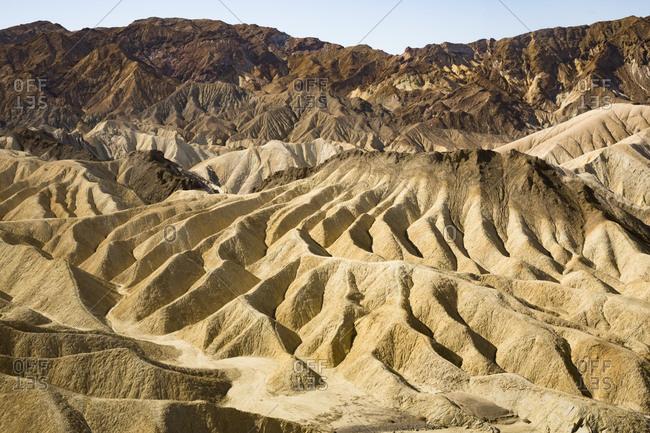 USA- Californian- Death Valley- Death Valley National Park- Zabriskie Point