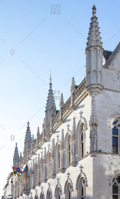 The City Hall of Kortrijk in Belgium