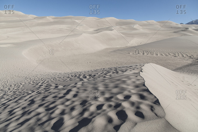 Hills ad dunes at Great Sand Dunes National Park and Preserve