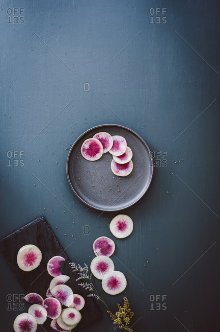 Watermelon radish from the Offset Collection