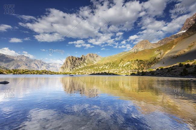 Alaudin Lake, Fan Mountains, Tajikistan, Central Asia, Asia