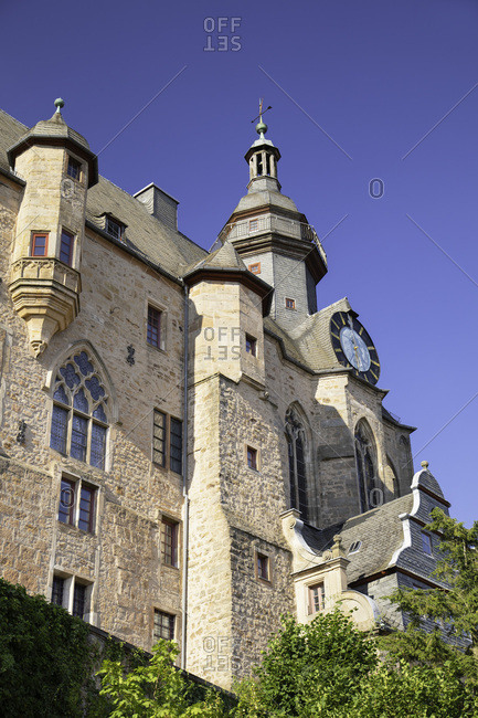 Landgrafenschloss (Marburg Castle), Marburg, Hesse, Germany, Europe