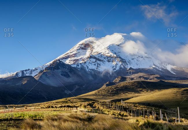 Chimborazo Volcano, Chimborazo Province, Ecuador, South America