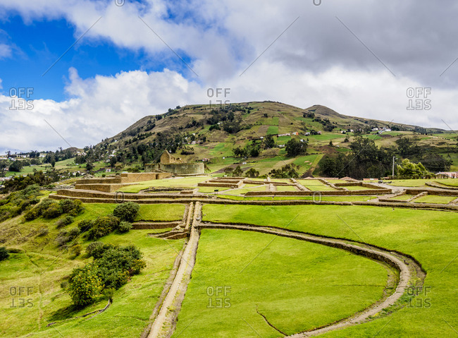 Ingapirca Ruins, Ingapirca, Canar Province, Ecuador, South America