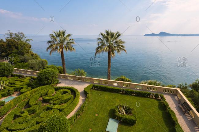 May 17, 2017: Isola del Garda on Lake Garda, Brescia province, Lombardy, Italian Lakes, Italy, Europe